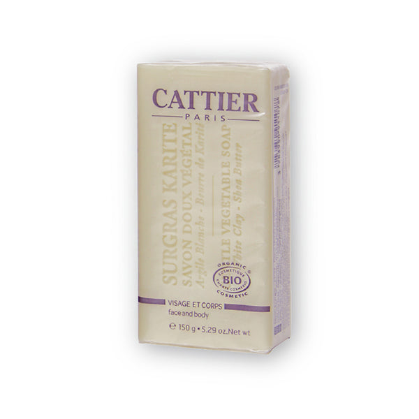 Cattier Veg Soap White Clay (Butter)