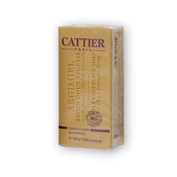 Cattier Veg Soap Yellow Clay (Honey)