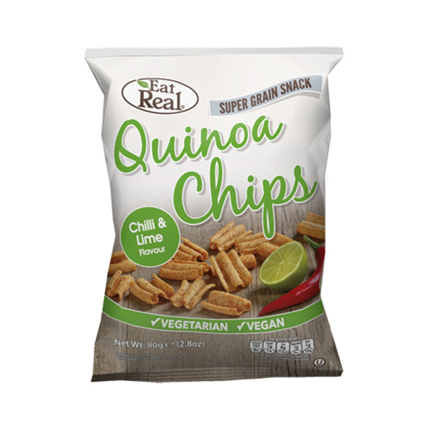 Cofresh Quinoa Chips Chilli Lime 80g