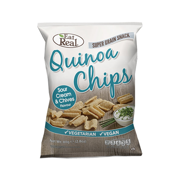 Cofresh Quinoa Chips Sour Cream & Chive