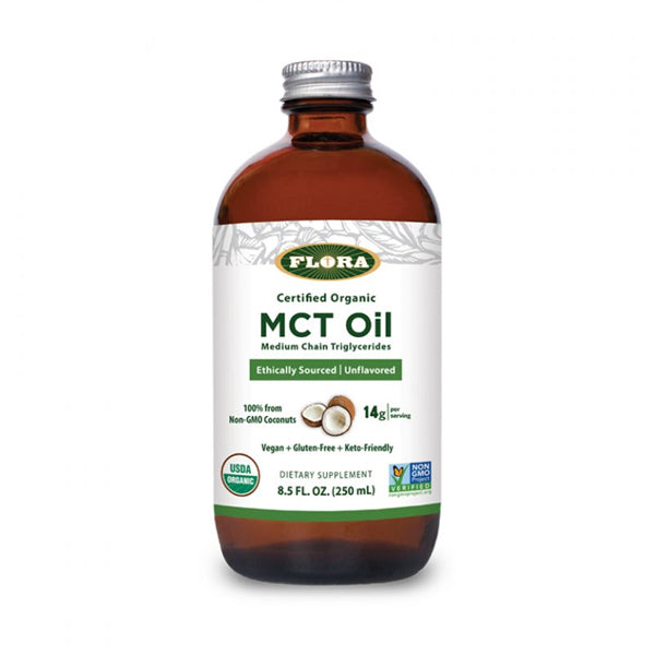 Flora Organic MCT Oil 250ml - keto