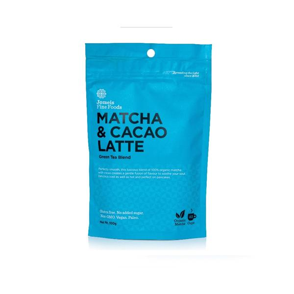 Jomeis Fine Foods Matcha Cacao Latte 100g