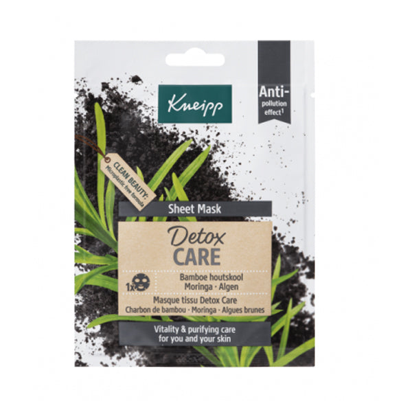 Kneipp Detox Care Charcoal Sheet Mask