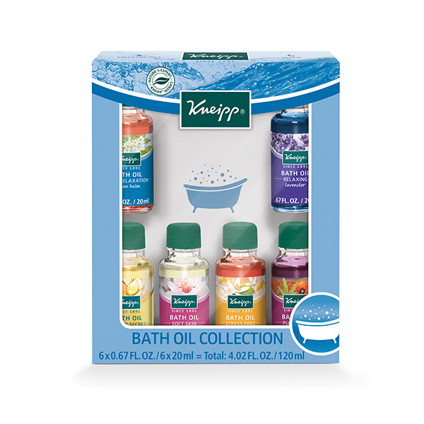 Kneipp Bath Oil Collection (6x20ml) (Special Edition)