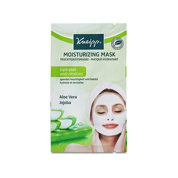Kneipp Face Mask - Moisturizing Aloe Vera Jojoba 2x8ml