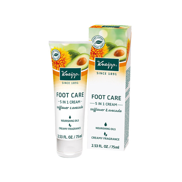 Kneipp Foot Care 5 IN 1 Cream 75ml