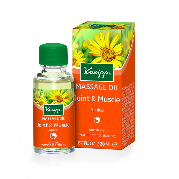 Kneipp Massage Oil Arnica 20ml