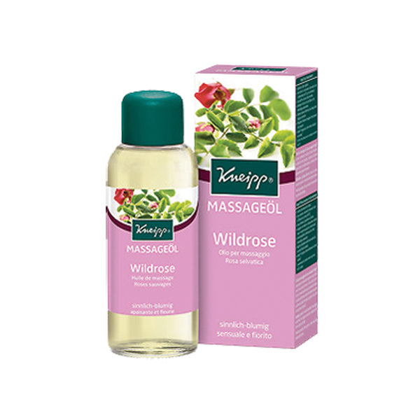 Kneipp Massage Oil Wildrose 100ml