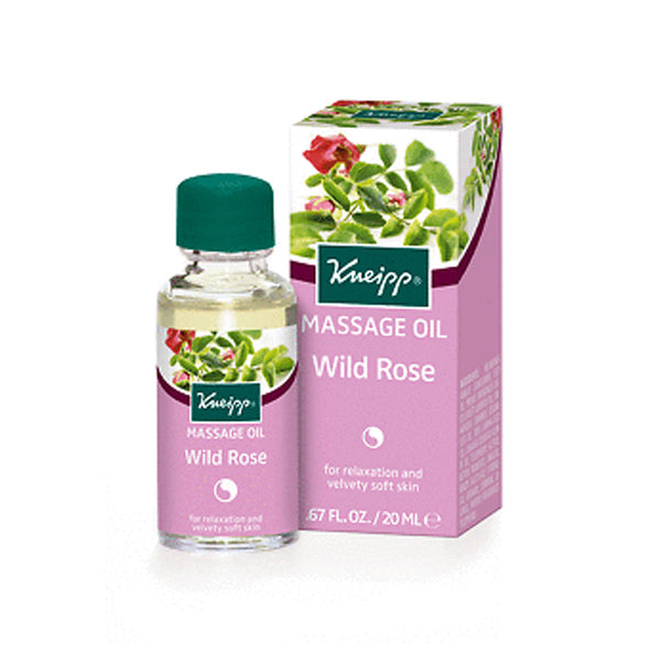 Kneipp Massage Oil Wildrose 20ml