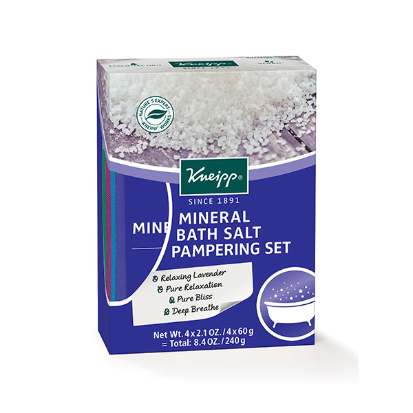 Kneipp Mineral Bath Salt Pampering Set (Special Edition)