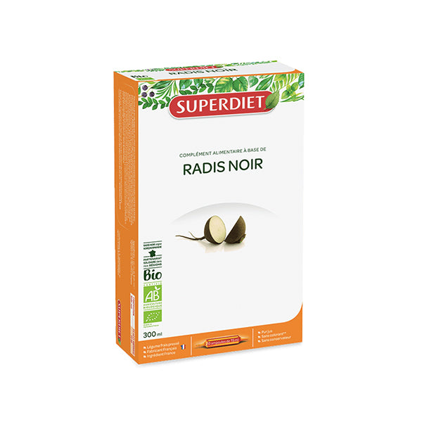 Super Diet Black Radish Bio 20 ampoules