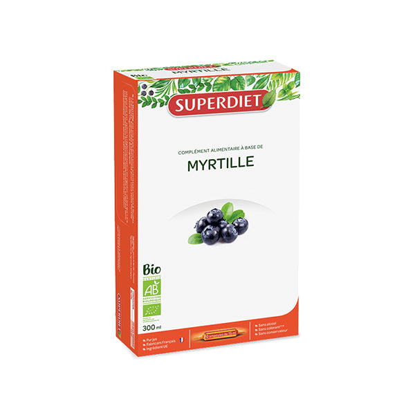 Super Diet Bilberry Juice 20x15ml