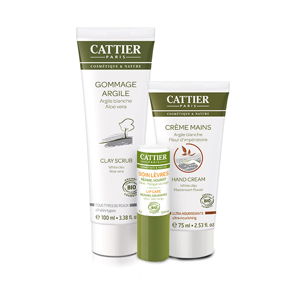 Cattier Clean & Nourish Set