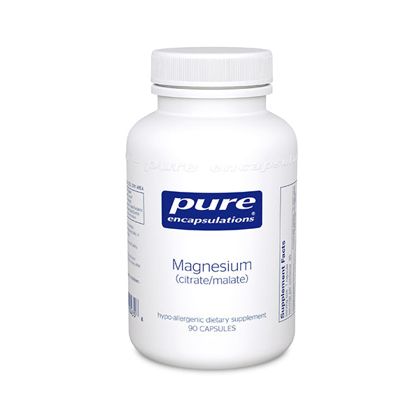 PURE Magnesium (citrate/malate) 90's - Keto