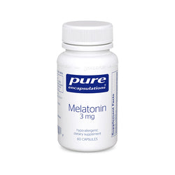 Pure Encapsulations Melatonin 3 Mg