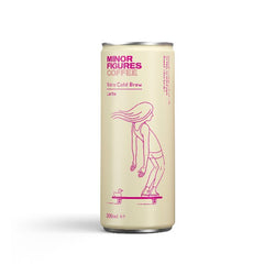 Minor Figures Nitro Cold Brew Latte 200ml