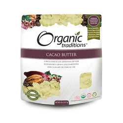 Organic Traditions Cacao Butter 227g