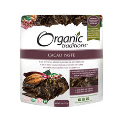 Organic Traditions Cacao Paste 227g