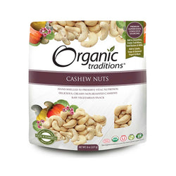 Organic Traditions Cashew Nuts 227g