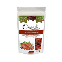 Organic Traditions Dried Jujube Fruit 100g