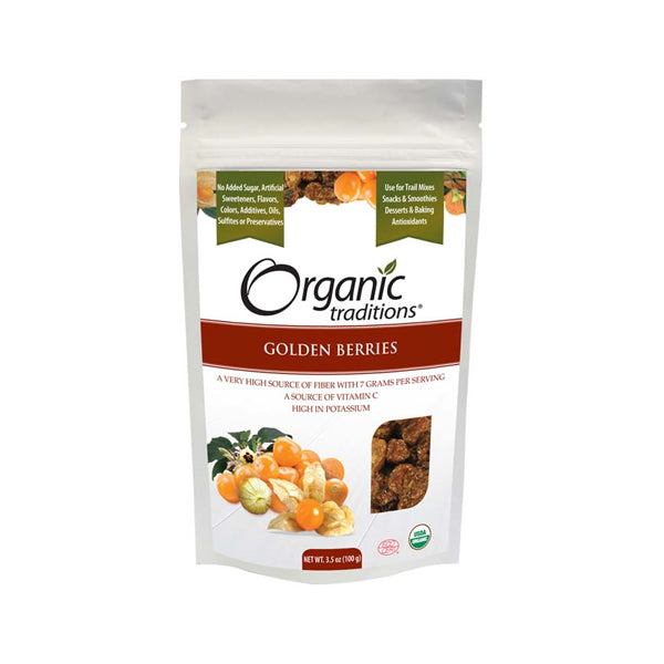 Organic Traditions Golden Berries 100g