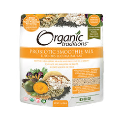 Organic Traditions Probiotic Smoothie Mix Lucuma Boabab