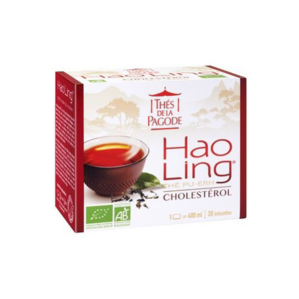Thes Hao Ling Pu-Erh Tea (Cholesterol) 30 bags