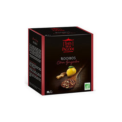 Thes Rooibos Lemon Ginger TeaBags 40g