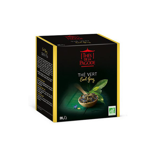 Thes Earl Grey Green Tea 20bgs 40g