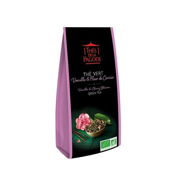 Thes Chinese Sencha Green Tea Vanlina Cherry 100g