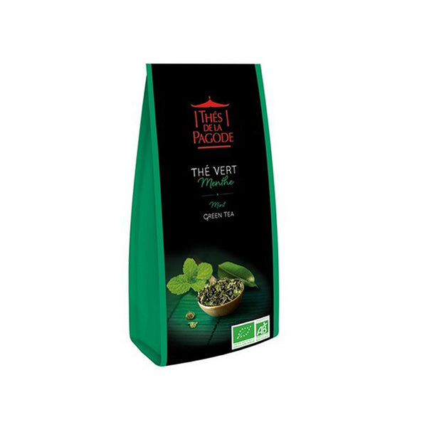 Thes Green Tea w/ Mint 100g