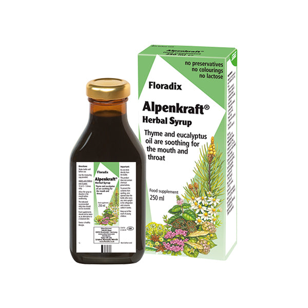 Salus Alpenkraft Herbal Syrup 250ml