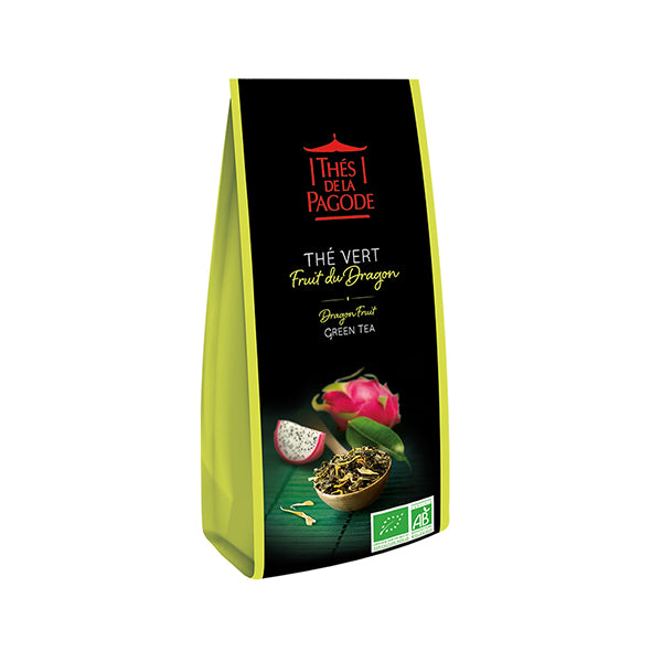 Thes Green Tea w/ Dragon Fruit 100g