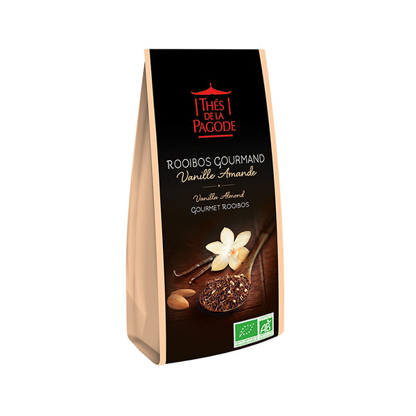 Thes Rooibos Gourmet w/ Almonds & Vanilla 100g