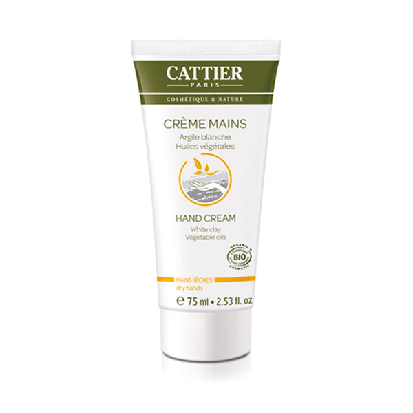 Cattier Hand Cream Dry Hands 75ml
