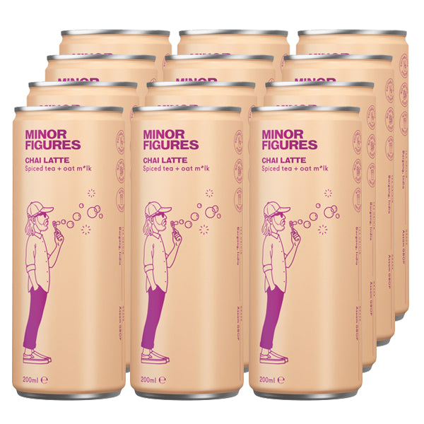 Minor Figures Nitro Chai Latte 200ml x 12