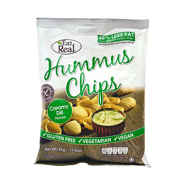 Cofresh Hummus Chips Creamy Dill 45g