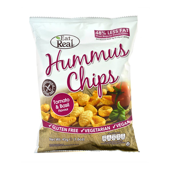 Cofresh Hummus Chips Tomato & Basil 45g