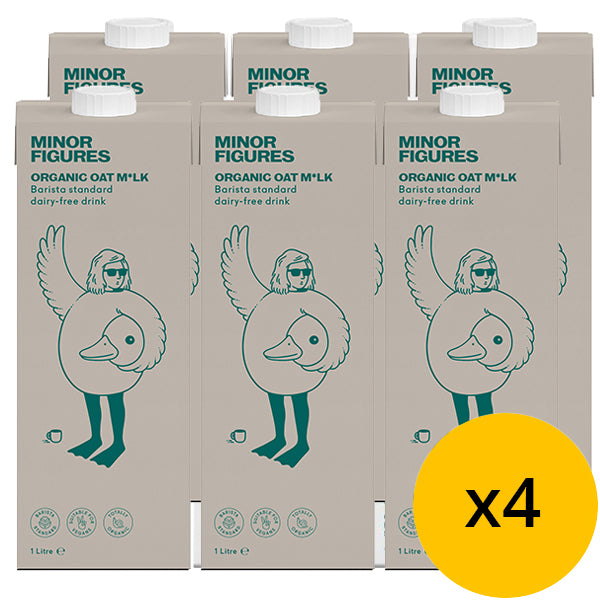 Minor Figures Organic Oat Milk 1L x 24