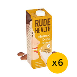 Rude health Almond Drink 1L x 6