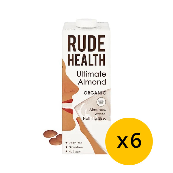 Rude health Ultimate Almond Drink x 6