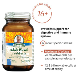 Udo's Adult's Probiotic 60's