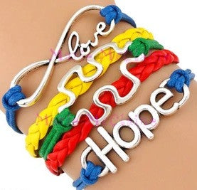 Autism Bracelet - Awareness Ribbon