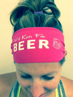 Will Run for BEER (pink)