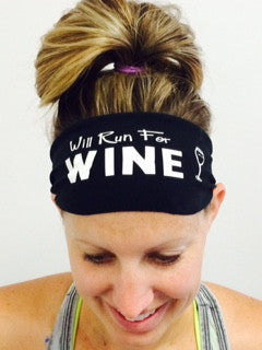 Will Run For Wine (black)