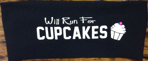 Will Run for CUPCAKES Janiband
