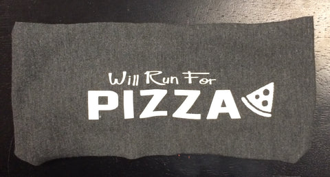 Will Run for Pizza Janiband