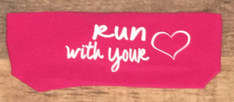 Run With Your Heart Janiband