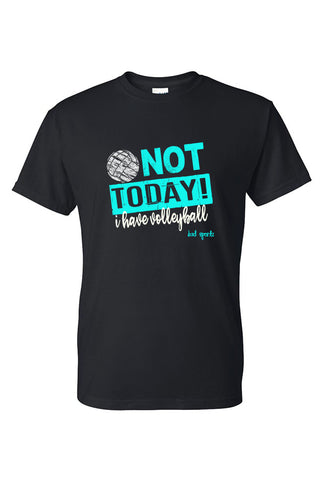 I Can't, I Have Volleyball T-Shirt