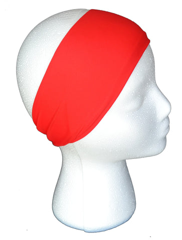 True Red Spandex Headband